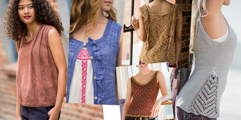 A Dash of Sass: Knit Tanks to Summer-Up Your Wardrobe