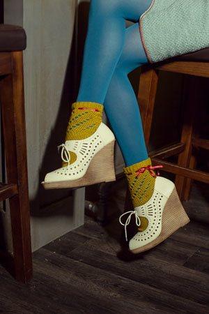 Twirl Socks Detail