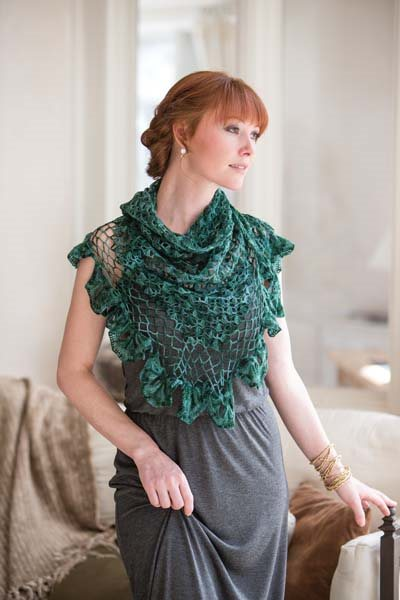 Crochet So Lovely: Broomstick Crochet Shawl