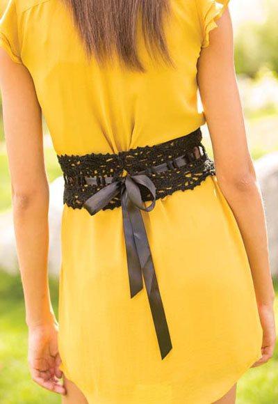 Colorful Crochet Lace: Crocet Belt