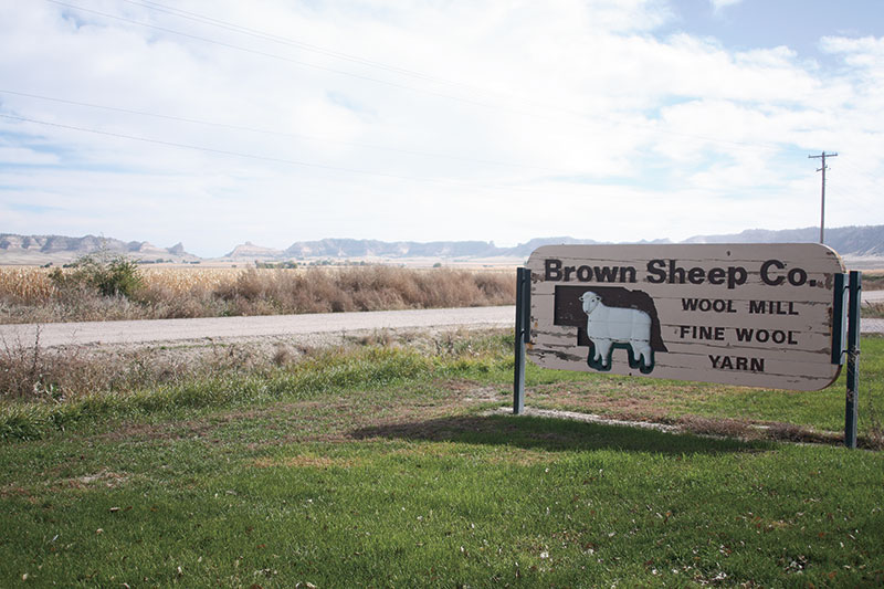 American Wool from the Great Plains: Brown Sheep Yarn Company