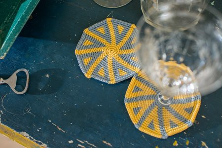 Spiral Coasters Top