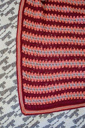 Red Mesa Throw detail