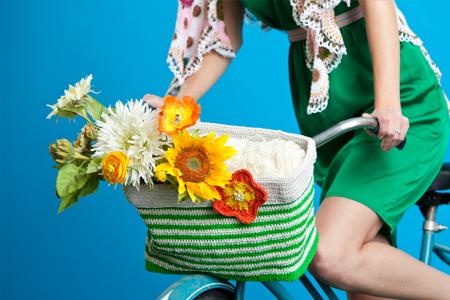 Bicycle Basket Interweave