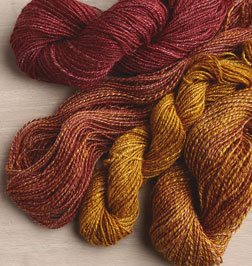 spinning silk yarns