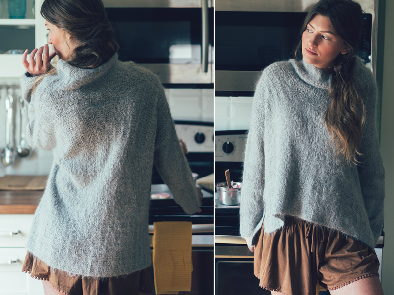 frosting pullover
