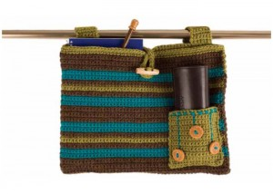 You'll love this crochet bag pattern in our FREE eBook on crochet embellishments.