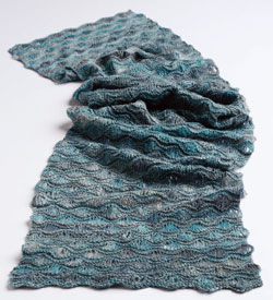 If you love knitting with wool, download your free eBook to see many of the different variations of this gorgeous scarf knitting pattern that have been made.