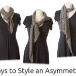 10 Ways to Style an Asymmetrical Shawl
