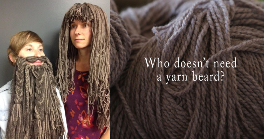 yarn wigs and beards
