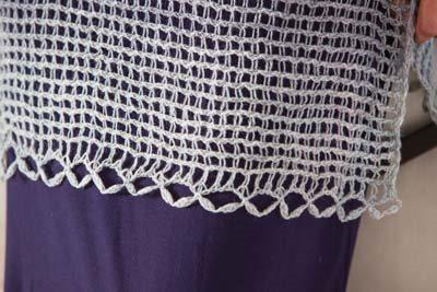 Crochet So Lovely: Lace Crocheted Wrap