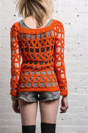 Coldwave Sweater back