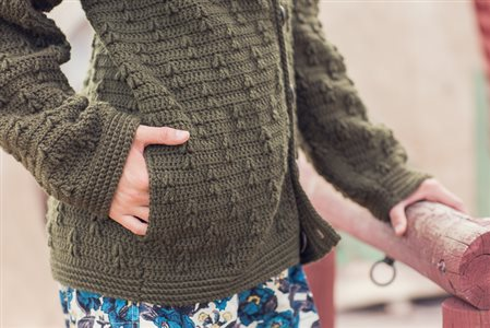 Mountain Forest Cardigan pocket