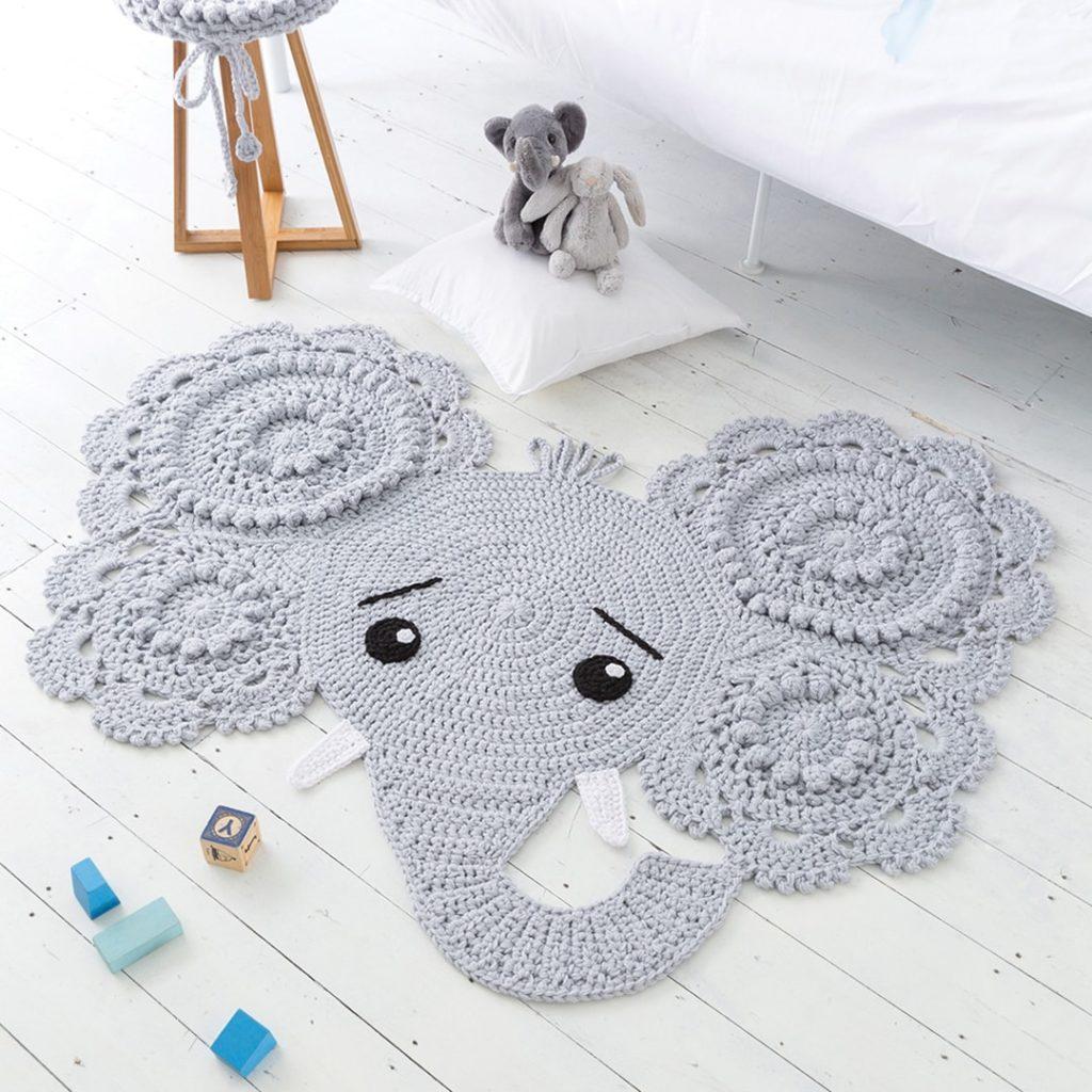 Elephant Amigurumi Free Crochet Pattern • Spin a Yarn Crochet | 1024x1024