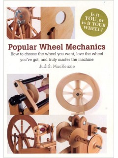Learn how to choose a spinning wheel the right way with the DVD, Poular Wheel Mechanics.