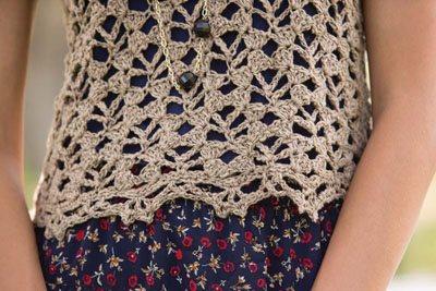 Colorful Crochet Lace: Crochet Top