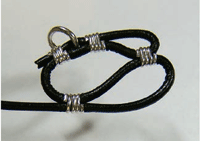 Making Leather and Wire Bracelet Step 7