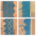 An Education in Grafting Lace Edgings: Edging Pattern 7