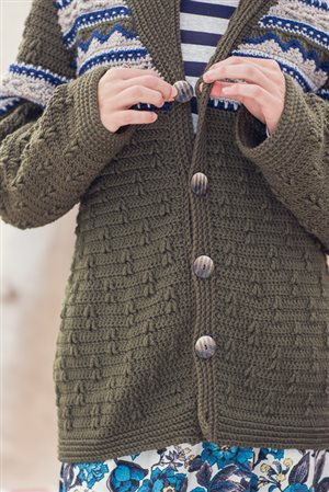Mountain Forest Cardigan Buttons