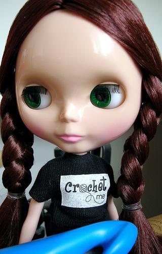 Crochet me T-shirt for Blythe