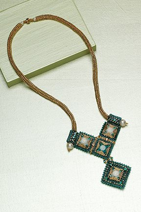 Dramatic Deco Necklace