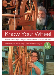 Learn how to maintain your spinning wheel in this exclusive DVD.