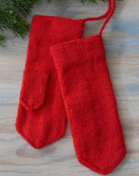 Jouni's Red Mittens Photos by Ann Swanson.