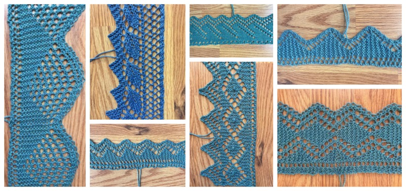An Education in Grafting Lace Edgings: Edging Pattern 8