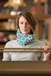 Endless Rose Cowl Jeffrey Wall IW Knits Spring 2015