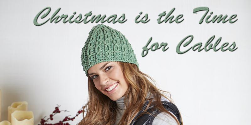 Pattern of the Week: Christmas Cables for All!