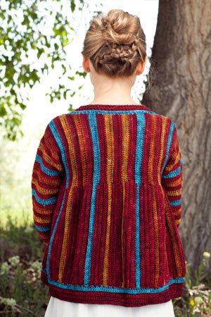 Girl's Crochet Jacket