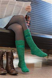 Stone's Throw Socks Josie Mercier IW Knits Spring 2015