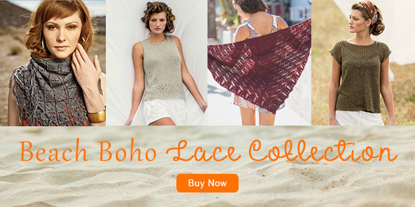 Beach Boho Lace Knitting Pattern Collection