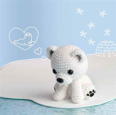 Polar lucibear crochet amigurumi dt1010fo