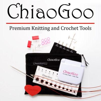 "TWIST 4"" MINI Set with tip sizes  US 000 - 1.5 Knitting Needles"