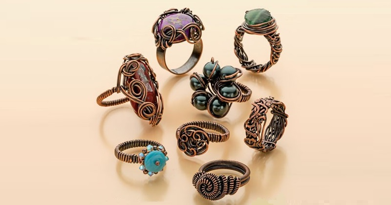 Wire Ring Making With Eva Sherman: 5 Tips for Making Stylish Wire Rings and More