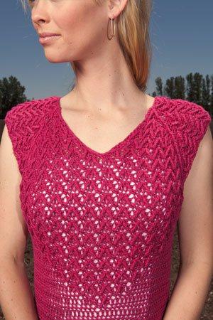 Doris Chan Crochet Dress
