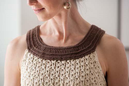 Lace Crochet Tank