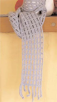 Off the Grid Scarf by Marilyn Murphy