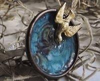 resin birdbath ring