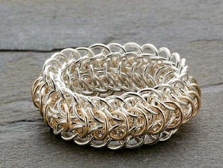 chain maille jewelry ring