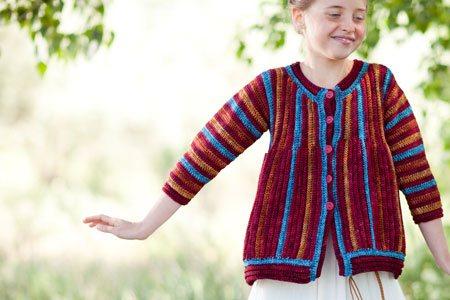 Crochet Ribbed Jacket