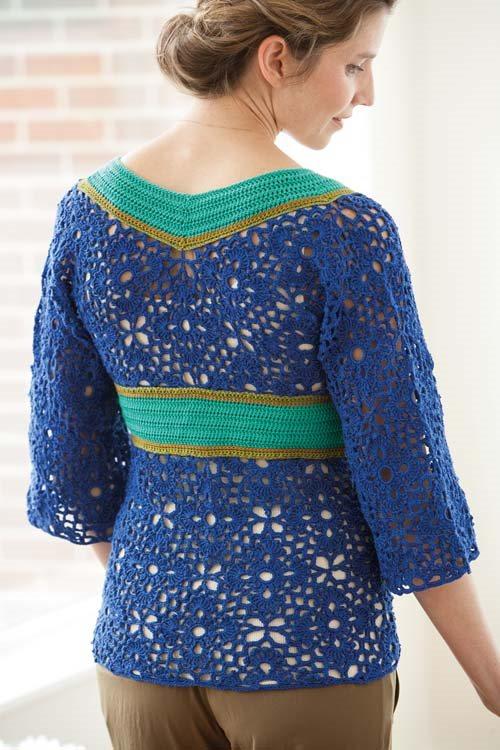 Blueprint Crochet Sweaters: Crocheted Tunic