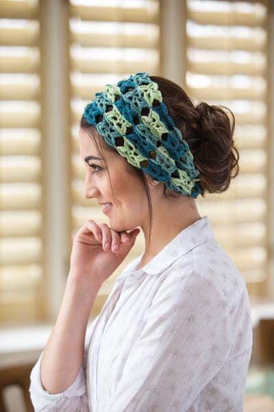 Crochet So Lovely: Crochet Motif Headband
