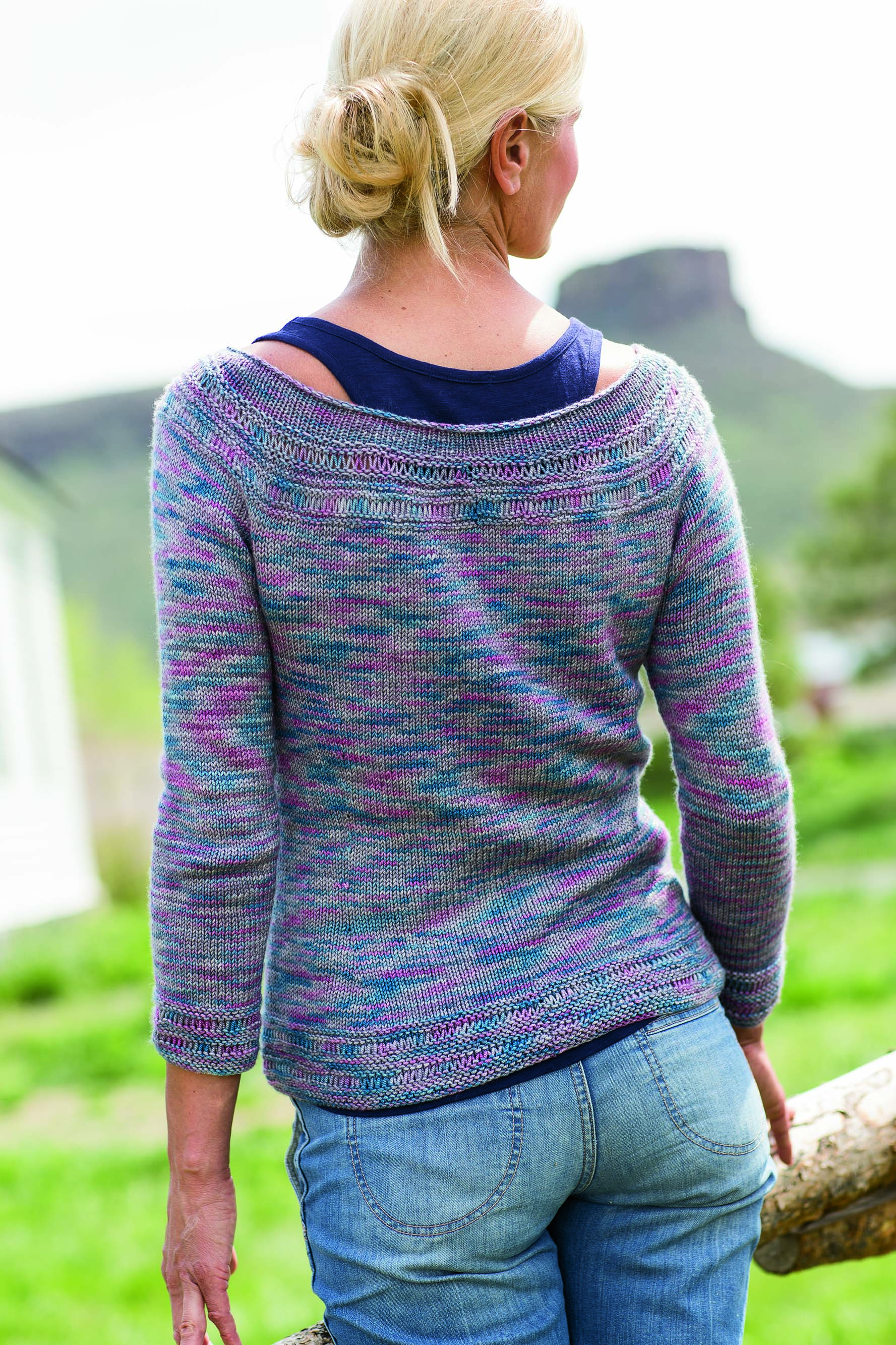 Clear Creek Pullover - Interweave
