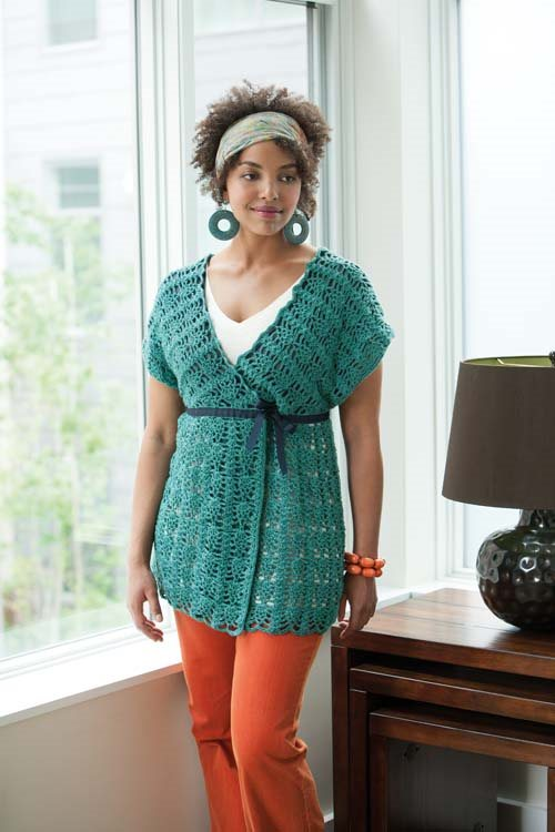 Blueprint Crochet Sweaters: Lace Tunic