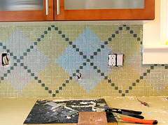 Argyle Backsplash