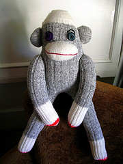 Sally the Sock Monkey