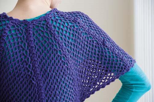 Blueprint Crochet Sweaters: Crochet Lace Dolman Sweater