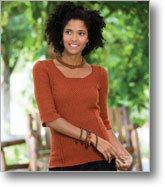 Crochet Sweater - Spice Market Tunic